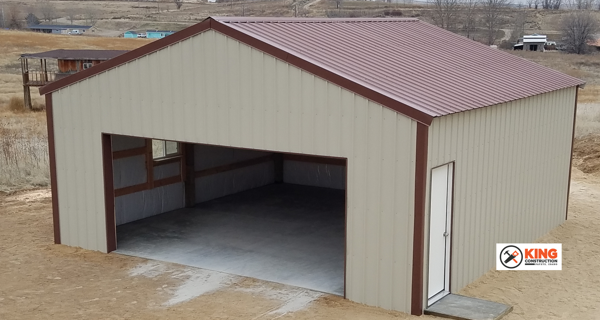 Pole Barn Hay Shed Tack Building Levi King Construction